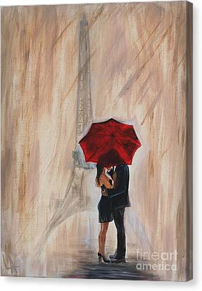 I'm Yours Canvas Print by Leslie Allen