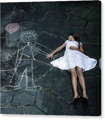 Imaginary Friend Canvas Print by Joana Kruse