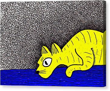 Imaginary Mice Canvas Print by e9Art
