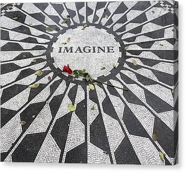 Imagine Mosaic Canvas Print by Mike McGlothlen