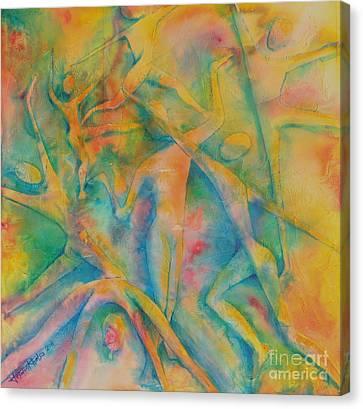 Improvisation Canvas Print by Jaswant Khalsa