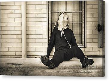 In Bliss Of Ignorance Canvas Print by Jorgo Photography - Wall Art Gallery