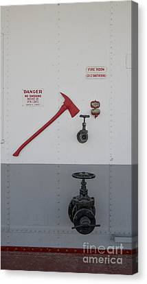 In Case Of Fire Canvas Print by Steven Ralser