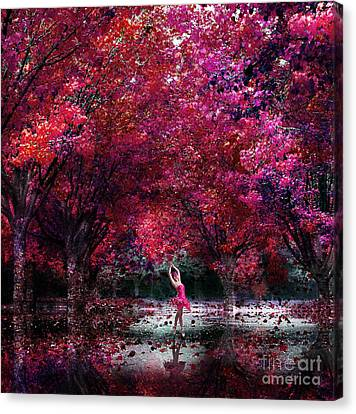 In Her Dreamworld Canvas Print by Jacky Gerritsen