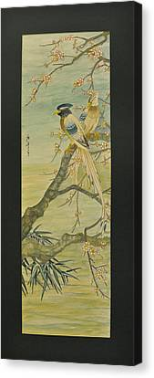 In Love Together Canvas Print by Ousama Lazkani