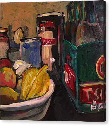 In My Fridge Canvas Print by Tilly Strauss