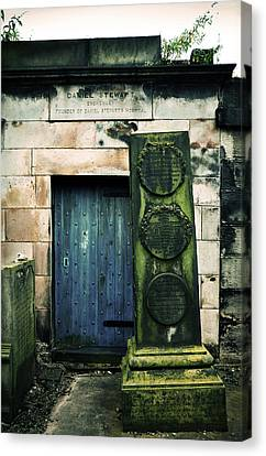 In Old Calton Cemetery Canvas Print by RicardMN Photography