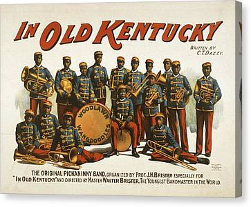 In Old Kentucky Canvas Print by Aged Pixel