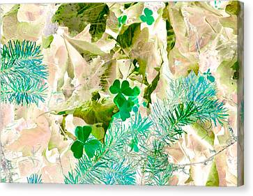 In Seasons Past Canvas Print by Bonnie Bruno