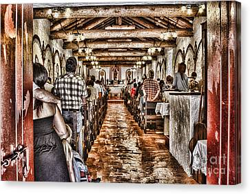 In Service Mission San Antonio De Pala By Diana Sainz Canvas Print by Diana Sainz