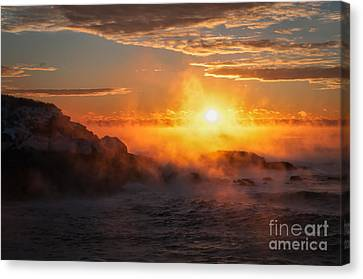 In The Beginning Canvas Print by Scott Thorp