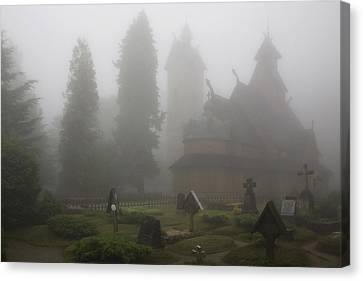 In The Fog Canvas Print by Joanna Madloch