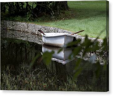 In The Good Old Summer Time Canvas Print by Kurt Gustafson