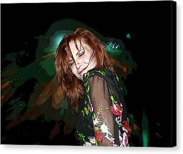 In The Groove Canvas Print by Ellen Henneke