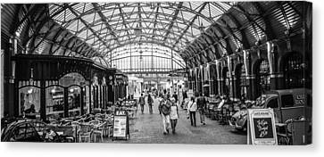 In The Market  Canvas Print by Steven  Taylor