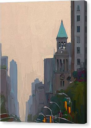 In The New York City Mountains Canvas Print by Nop Briex