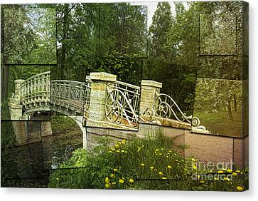 In The Park Canvas Print by Elena Nosyreva
