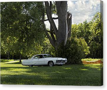 In The Shade Canvas Print by Peter Chilelli