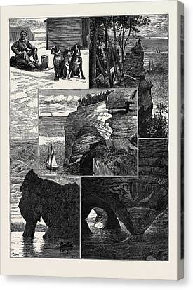In The United States Canvas Print by American School