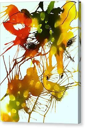 In The Wild Canvas Print by Ellen Levinson