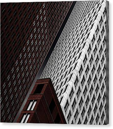 In Tribulation Canvas Print by Gilbert Claes