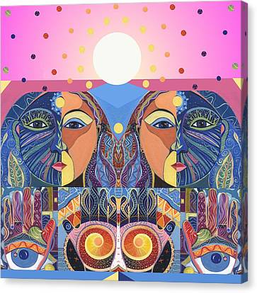 In Unity And Harmony Canvas Print by Helena Tiainen