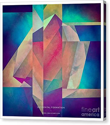 Incidental Formation Canvas Print by Lonnie Christopher