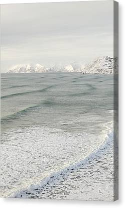 Incoming Waves Canvas Print by Tim Grams