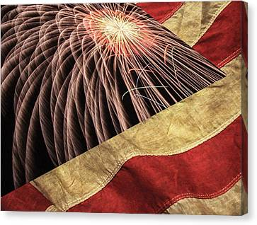 Independence Day  Canvas Print by Lanjee Chee