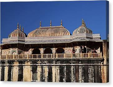 India Jaipur Jaipur City Palace Canvas Print by Kymri Wilt