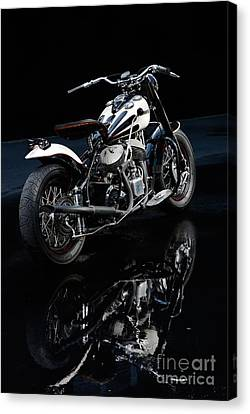 Indian Chief Blackhawk Bobber Canvas Print by Frank Kletschkus