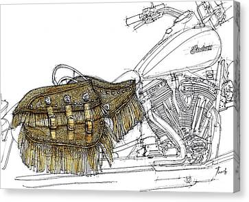 Indian Chief Vintage 2012 Canvas Print by Pablo Franchi