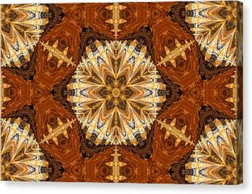 Indian Cloth Canvas Print by Georgiana Romanovna