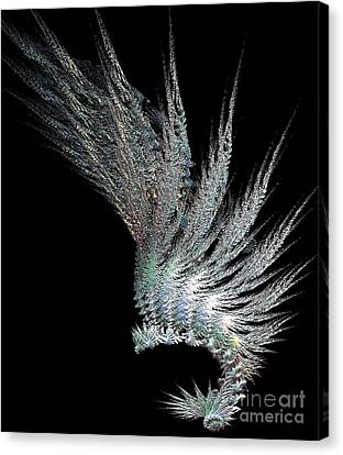 Indian Feather Head Dress Canvas Print by Gail Matthews