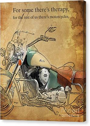 Indian - For Some There S Therapy Canvas Print by Pablo Franchi