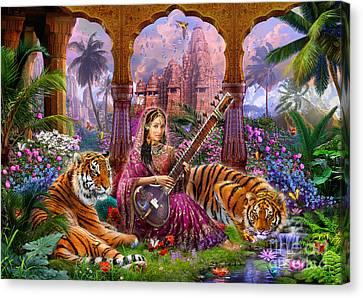 Indian Harmony Canvas Print by Jan Patrik Krasny