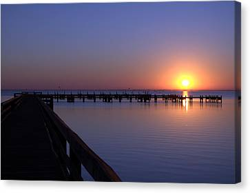 Indian River Sunrise Canvas Print by Brian Harig