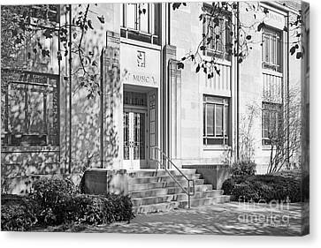 Indiana University Merrill Building Entrance Canvas Print by University Icons