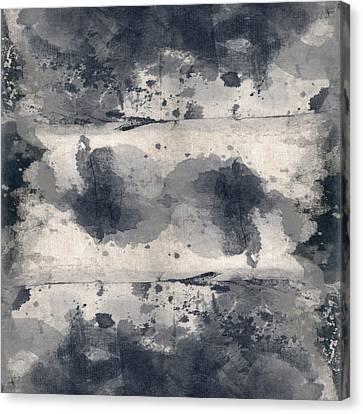 Indigo Clouds 2 Canvas Print by Carol Leigh
