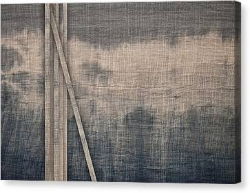 Indigo Crossing 1 Canvas Print by Carol Leigh