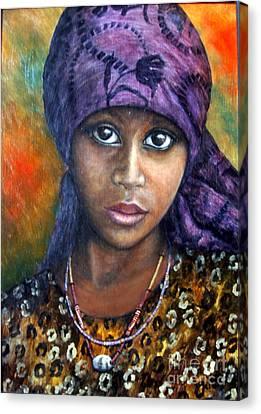 Indigo Dreams Canvas Print by Joey Nash