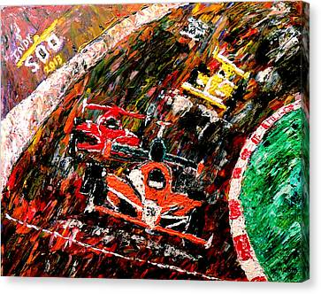 Indy 500  Canvas Print by Mark Moore