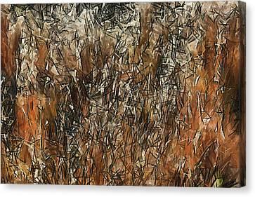 Infinite Meadows Canvas Print by Ayse Deniz