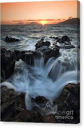 Influx Canvas Print by Mike  Dawson