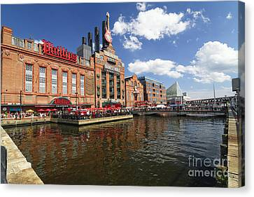 Inner Harbor Revival Canvas Print by George Oze