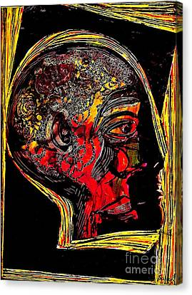 Inner Man Canvas Print by Sarah Loft