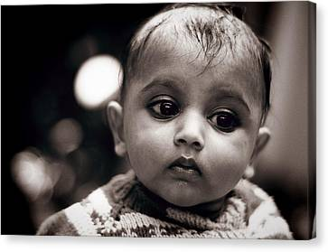 Innocence Canvas Print by Money Sharma