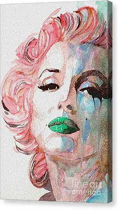 Insecure  Flawed  But Beautiful Canvas Print by Paul Lovering