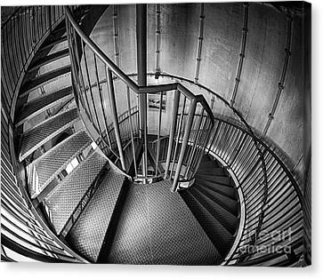 Inside Edgartown Lighthouse 2 Canvas Print by Mark Miller
