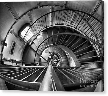 Inside Edgartown Lighthouse 3 Canvas Print by Mark Miller